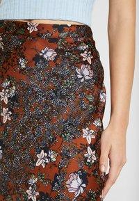 Vero Moda - VMISABEL SKIRT - A-line skirt - brown - 4