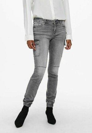 Jeans Skinny Fit - light grey denim