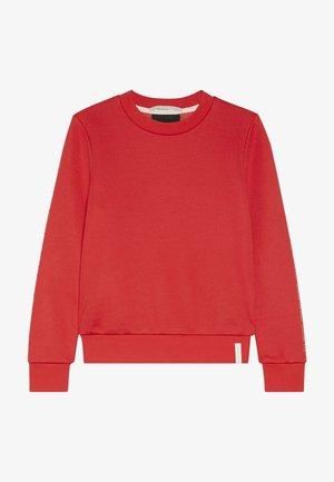 CLUB NOMADE CREW NECK WITH CHEST PRINTS - Sweatshirt - tomato