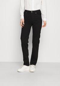 Marks & Spencer London - SIENNA - Straight leg jeans - black - 0