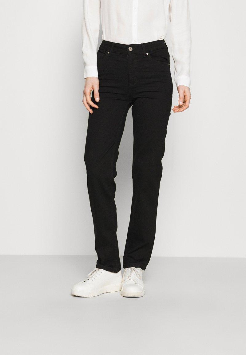 Marks & Spencer London - SIENNA - Straight leg jeans - black