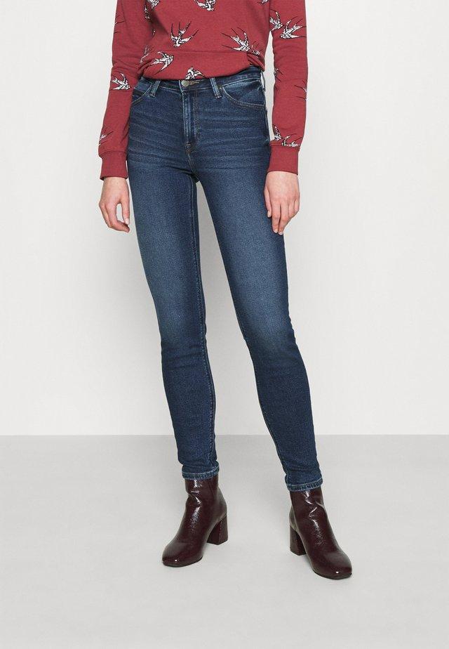 SCARLETT HIGH - Jeans Skinny Fit - dark de niro
