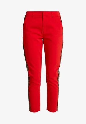 Kalhoty - mars red