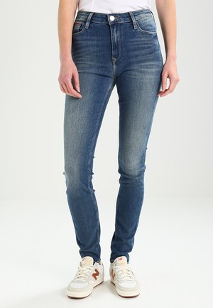 HIGH RISE SKINNY SANTANA - Jeans Skinny Fit - royal blue