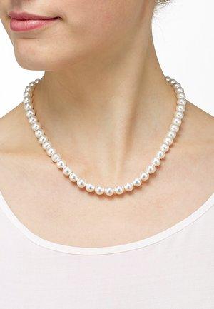KETTE PERLE - Necklace - weiß