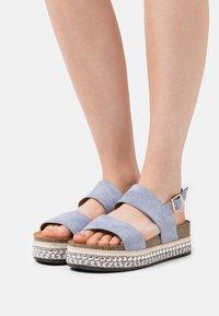 SassyClassy - Platform sandals - blue - 0
