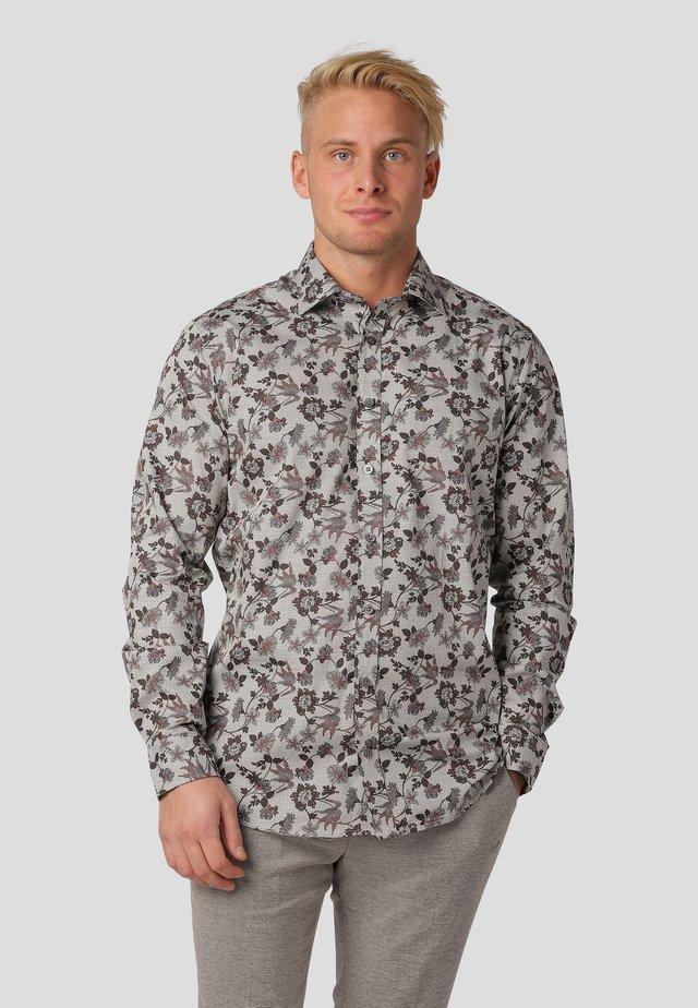 NAPLES LS - Shirt - tobbaco brown