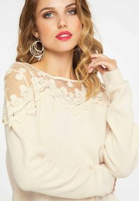 faina - Jumper - beige - 3
