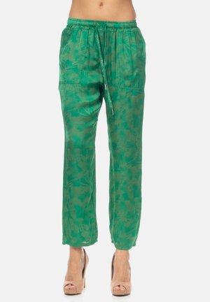 Tracksuit bottoms - verde