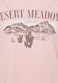 Even&Odd Curvy - T-shirts med print - light pink - 2