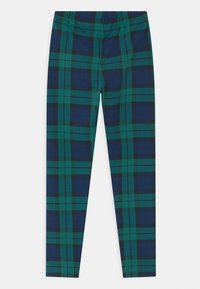 GAP - GIRL - Leggings - green plaid - 1