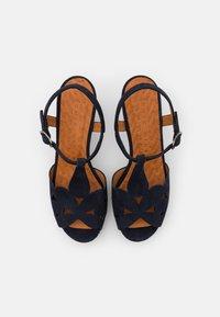 Chie Mihara - EGEO - Sandalen met plateauzool - nuit/miranda - 4