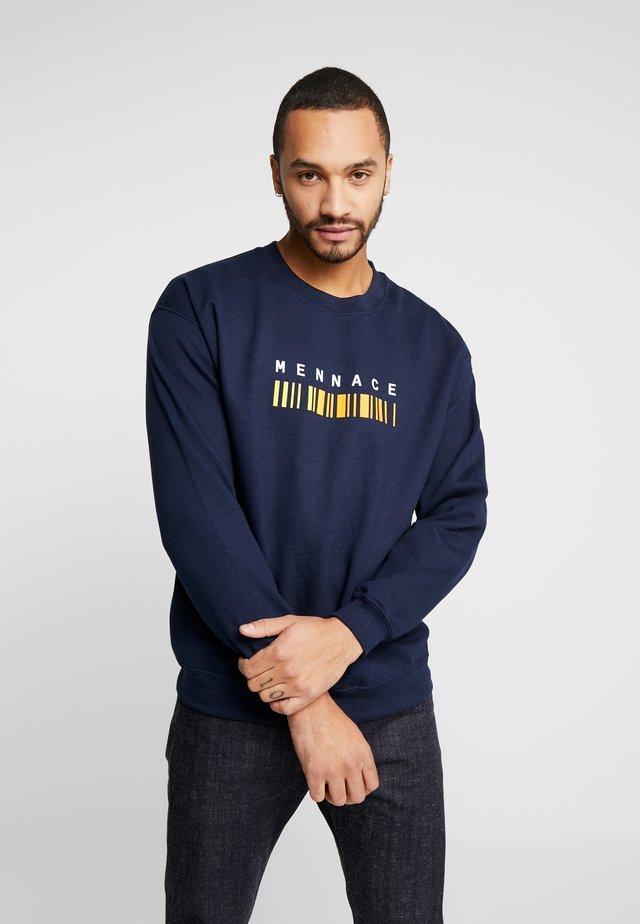 BARCODE - Sweatshirt - navy