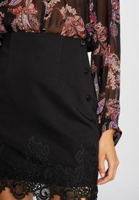 Morgan - WITH LACE - Pencil skirt - black - 3