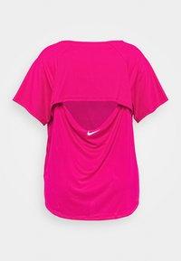 Nike Performance - ICON CLASH MILER - Print T-shirt - fire berry/white - 1
