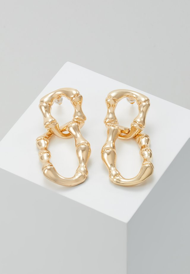 BAMBOO CHAIN - Orecchini - gold-coloured
