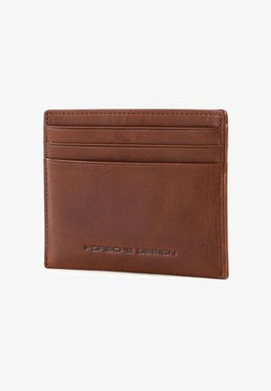 URBAN COURIER  - Business card holder - cognac