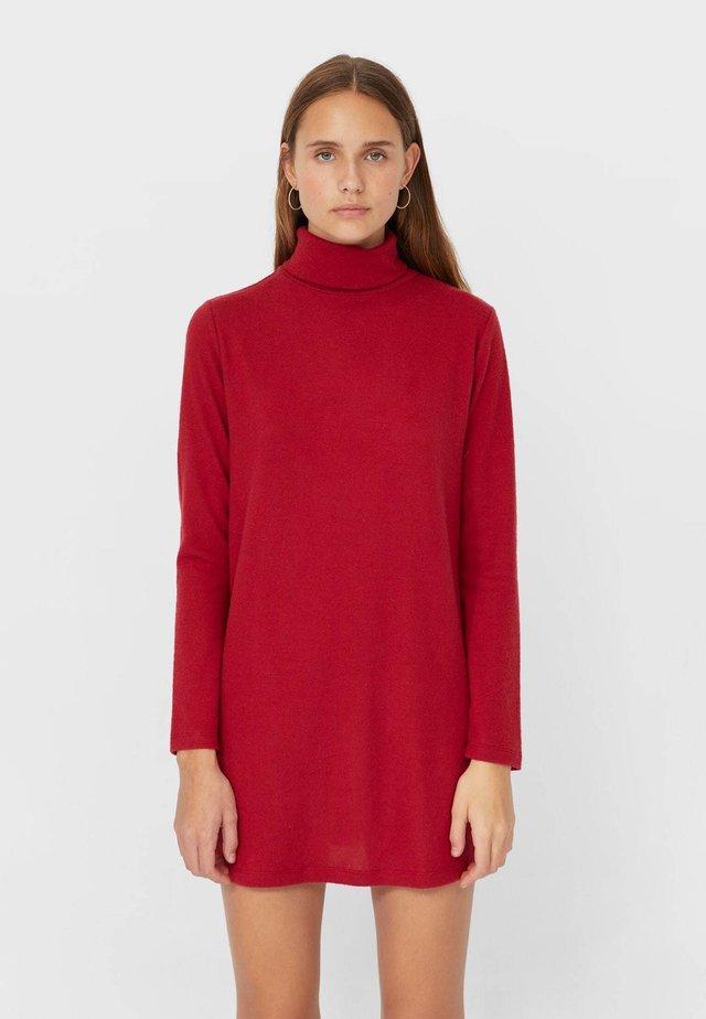 Abito in maglia - red