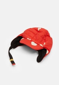 Mini Rodini - INSULATOR HEARTS - Cap - red - 1