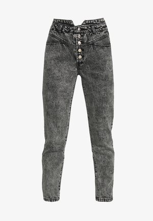 ONLTURNER 80TIES - Relaxed fit jeans - black