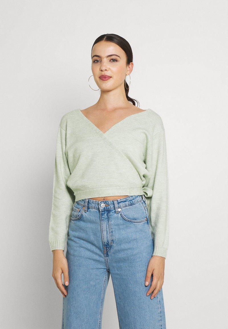Even&Odd - Cardigan - light green