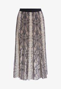 SET - A-line skirt - light stone grey - 4
