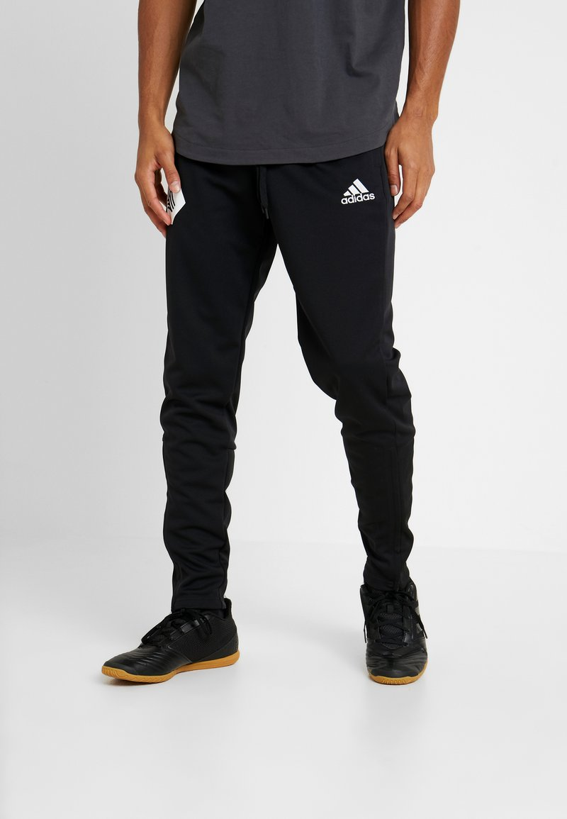 adidas Performance - TANGO FOOTBALL PANTS - Träningsbyxor - black