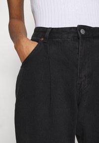 Monki - MAJA - Jeans baggy - black dark - 6