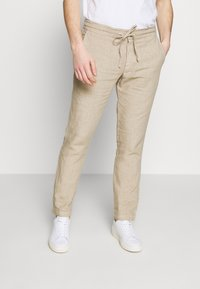 120% Lino - TROUSERS - Trousers - sundune - 0