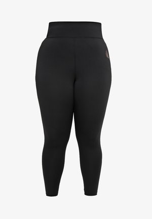BASIC ANCLE PANT - Tights - black