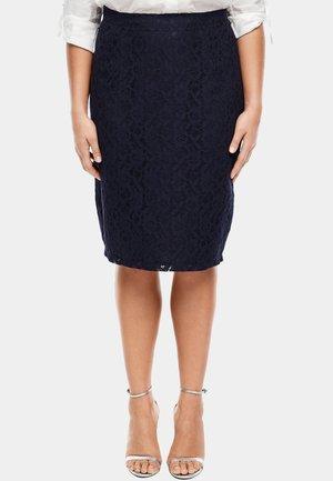 Pencil skirt - navy