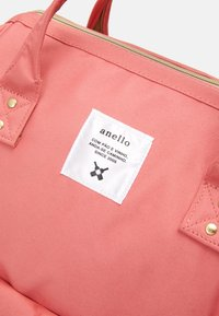 anello - BACKPACK COLOR BLOCK LARGE UNISEX - Batoh - coral pink - 4