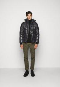 Blauer - GIUBBINI CORTI IMBOTTITO - Down jacket - black - 1
