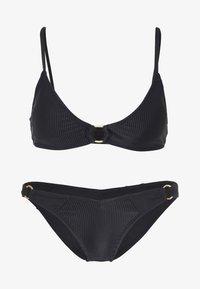 Cotton On Body - RING SCOOP BRALETTE SET - Bikini - black - 5