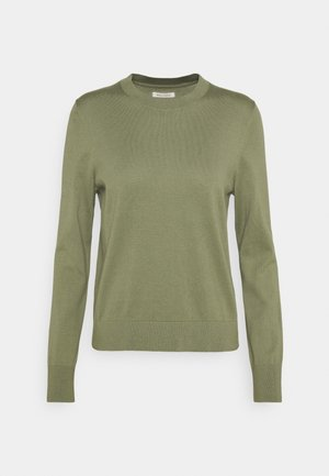 LONGSLEEVE ROUND NECK - Jumper - dried sage