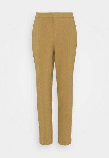 BASIC BUSINESS PANT SLIM LEG - Bukse - camel