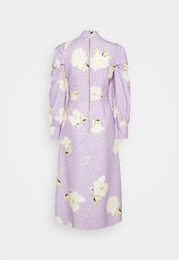 Closet - PUFF SLEEVE MIDI DRESS - Day dress - purple - 7