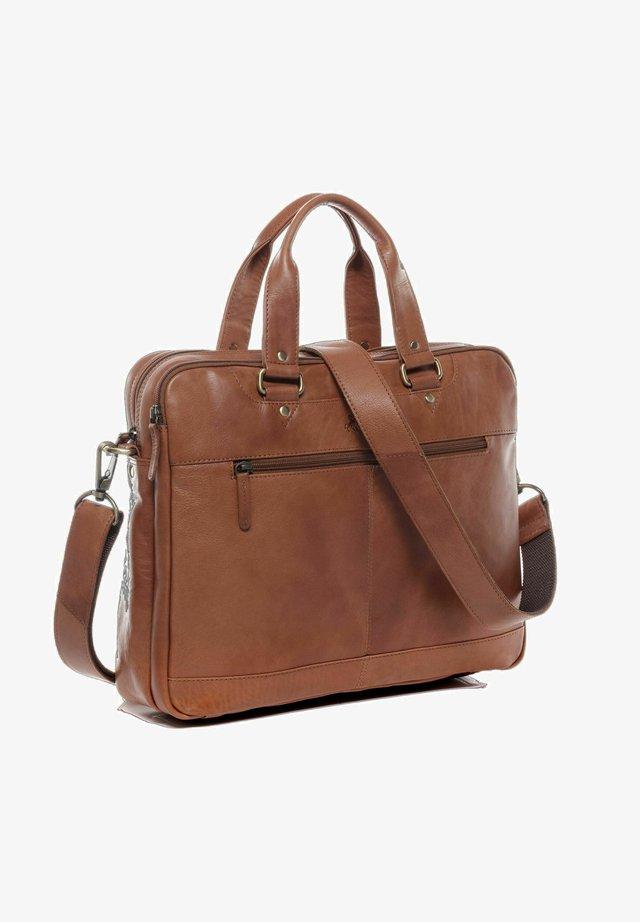 Briefcase - hellbraun