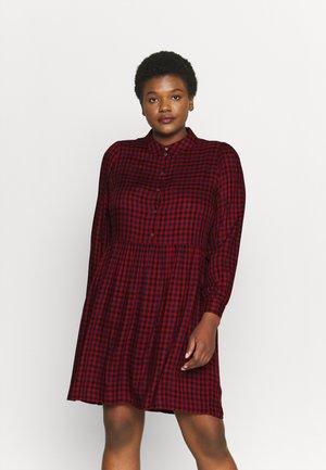 CARIDALO TUNIC DRESS - Shirt dress - black