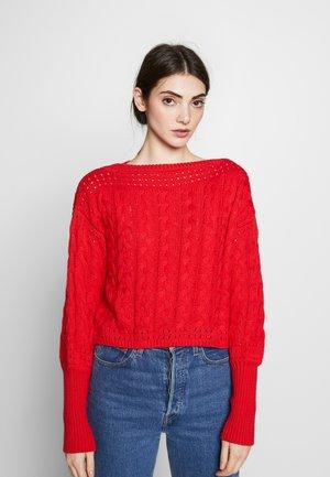 MILIE - Jumper - red