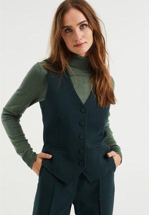 Waistcoat - moss green