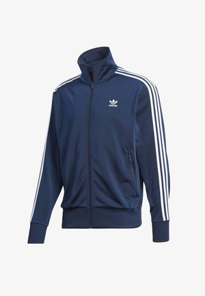 FIREBIRD TRACK TOP - Felpa aperta - blue