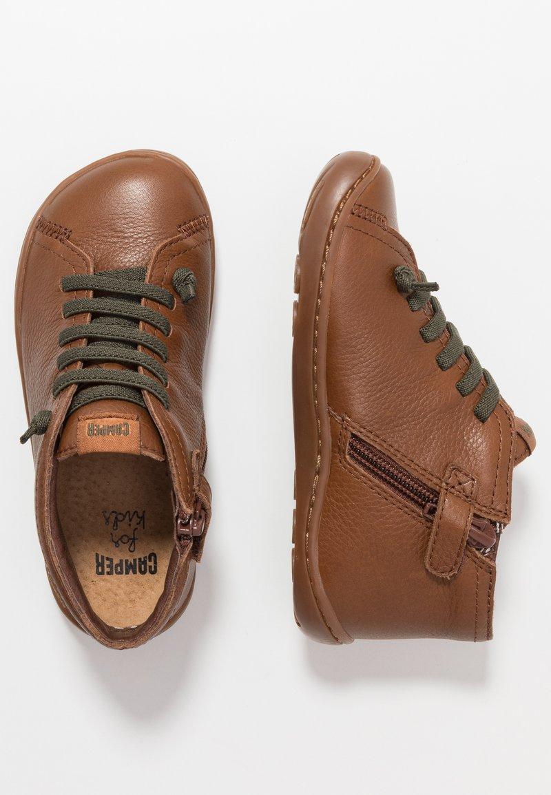 Camper - PEU CAMI KIDS - Volnočasové šněrovací boty - tan