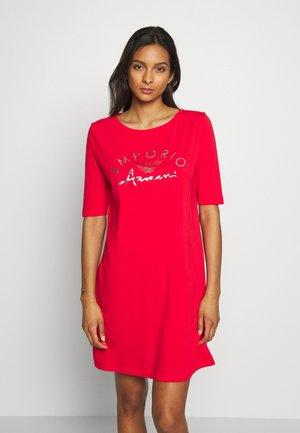 NIGHT DRESSVISIBILITY LOGO LOVER - Nightie - red