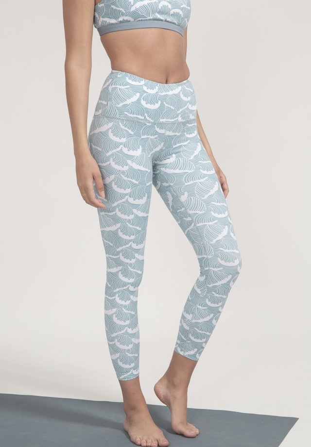 Leggings - hellblau