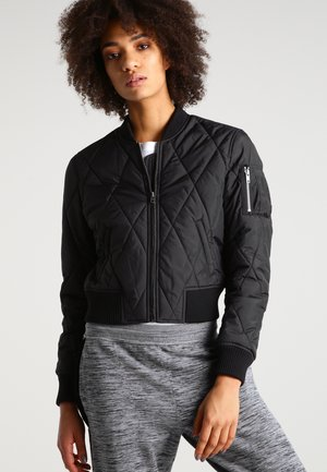 Bomber Jacket - black/black