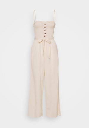 OVERALL - Jumpsuit - sand