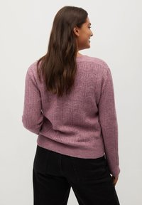 Violeta by Mango - JEWERLY - Cardigan - rosa - 2