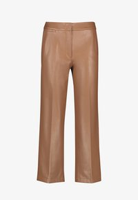Gerry Weber - Leather trousers - toffee - 3