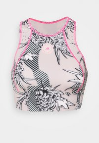 adidas by Stella McCartney - CROP - Top - pink tint/multicolor - 0